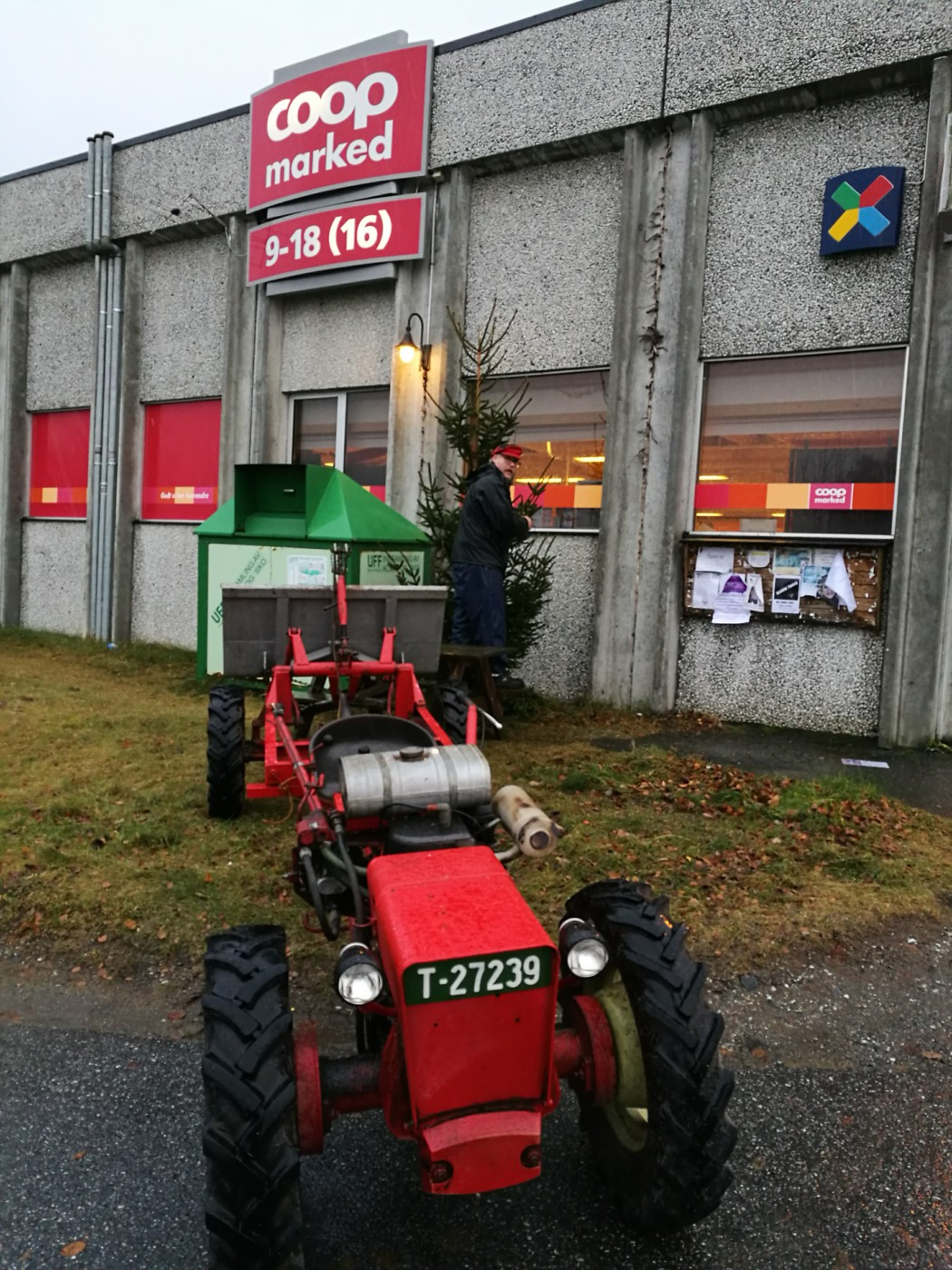 Traktoren fra Hagen